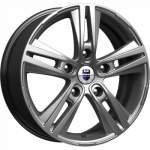 KiK Alloy Wheel Prime Dark Platinum, 17x6. 5 5x139 ET40 middle hole 98
