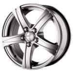 KiK Alloy Wheel SKAD Sakura Hyper Silver, 15x6. 5 5x100 ET43 middle hole 57