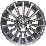 NANO diski Alloy Wheel Nano BK850 Hyper Silver, 17x7. 5 5x112 ET42 middle