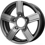 iFree Alloy Wheel Rider Hyper Silver, 16x6. 5 5x139 ET40 middle hole 98
