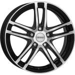 DEZENT Alloy Wheel TZ Dark, 16x6. 5 4x100 ET40 middle hole 60