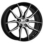 DOTZ Alloy Wheel Misano dark, 17x7. 5 5x108 ET48 middle hole 70