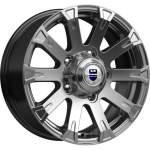 KiK Alloy Wheel Baikal Dark Platinum, 16x7. 0 5x139. 7 ET35 middle hole 08