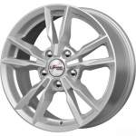 iFree Alloy Wheel Ikigai Silver, 16x6. 5 5x112 ET40 middle hole 66