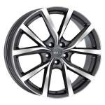 MAK Alloy Wheel Polaris GMMF, 19x8. 0 5x108 ET42 middle hole 63