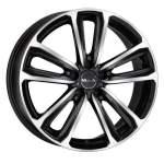MAK Alloy Wheel Magma Black Mirror, 17x7. 5 5x112 ET42 middle hole 76