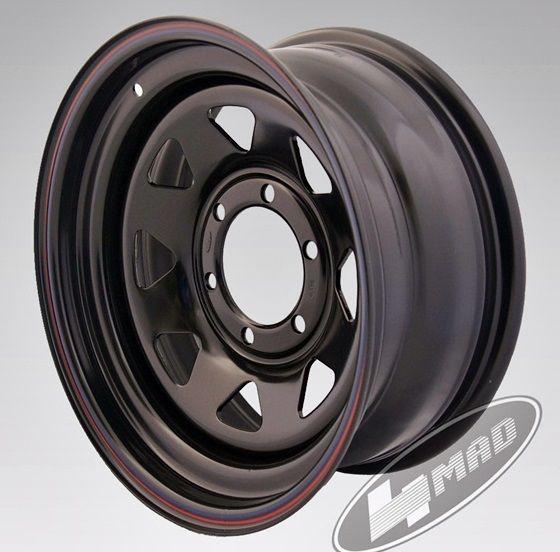 c28f9a39ecb 4MAD wheel Off Road black 16x7 Et-35 (6x139, 7) - rehvid365.ee