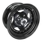 SPEEDMAX WHEELS wheel steel OFF ROAD BLACK FURY paint: black/ lid chrome