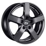 MSW Alloy Wheel 55 Matt Dark Grey, 17x7. 0 5x120 ET49 middle hole 65