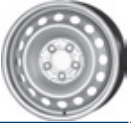 MW 6, 50Jx16 H2; 5x112x66, 5; ET 60; velg teras: Mercedes Vito II 09/03-;