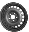 MW 6. 0x15, 5x108, CH 63, 3, ET: 52, 5; wheel steel FORD TOURNEO CONNECT