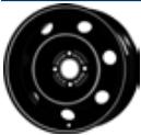 MW 7. 0x16, 4x108, CH 65, ET: 29; wheel steel PEUGEOT 5008 06. 09- KRONPRINZ
