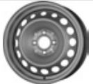 MW 5, 5Jx15H2; 4x100x60; ET 36: wheel steel: Renault Twingo III 09/14-; (
