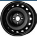 MW 6x15, 4x100, CH 54, ET: 47; wheel steel HYUNDAI I20 11. 14- CMR