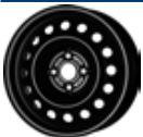 MW 5. 5x15, 4x100, CH 54, ET: 36; wheel steel KIA RIO III 09. 11- CMR