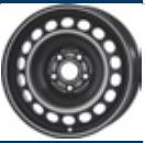 MW 7. 0x16, 5x112, CH 57, ET: 45; wheel steel SEAT EXEO, EXEO ST; SKODA