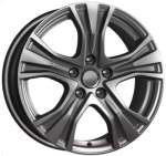 KiK Valuvelg KC673 Dark Platinum, 17x7. 0 5x112 ET48 Keskava 66
