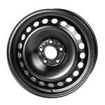 LegeArtis diski steel wheel RSTEEL Black, 15x6. 0 4x100 ET43 middle hole 56