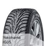 Yokohama 4x4 SUV Studded tyre 245/65R17 YOKO iG35 107T