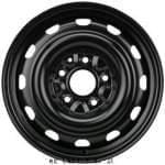 KRONPRINZ 6, 5x16 H2; 5x127x71, 5; ET40; Plekkvelg: Fiat Freemont 09/11-