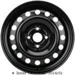 KRONPRINZ 5, 50Jx15H2; 4x100x54; ET36; стальный диск; Kia Rio