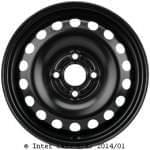 KRONPRINZ 5J x14 H2; Plekkvelg; Volkswagen: UP / Lupo II 06/11-; Seat Mii