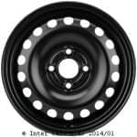 KRONPRINZ 5J x14 H2; стальный диск; Volkswagen: UP / Lupo II