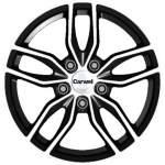 Carwel Alloy Wheel Epsilon Black Pol, 16x6. 5 5x112 ET42 middle hole 57