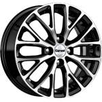 Carwel Alloy Wheel Riorita Black Pol, 15x6. 0 4x100 ET46 middle hole 54