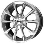 MOMO Alloy Wheel M-50 Hypersilver, 18x7. 5 5x115 ET38 middle hole 70