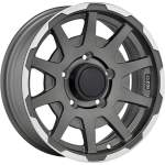 SPARCO Alloy Wheel Dakar Mat Grey Pol, 16x5. 5 ET middle hole 08