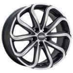 MAGMA 8, 00x17 5x120 ET35 alloy wheel Pulsio ( paint: black lava, matt)