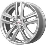 Carwel Alloy Wheel iFree Katar Silver, 16x6. 5 ET middle hole 57