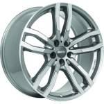 ALUTEC Alloy Wheel DriveX Grey Polish, 19x8. 5 5x108 ET40 middle hole 63