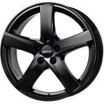 ALUTEC Alloy Wheel Freeze Black, 19x7. 5 5x108 ET45 middle hole 70