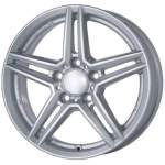ALUTEC Valuvelg M10 Silver, 17x7. 5 5x112 ET45 Keskava 66