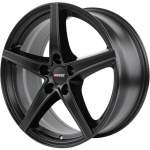 ALUTEC Alloy Wheel Raptr Black, 17x7. 5 5x100 ET40 middle hole 63