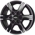 ALUTEC Alloy Wheel Titan Black Polish, 18x8. 0 6x130 ET53 middle hole 84