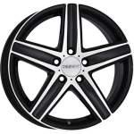 DEZENT Alloy Wheel TG Dark, 16x7. 5 5x112 ET35 middle hole 66