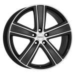 DEZENT Alloy Wheel TH Dark, 16x7. 0 5x108 ET48 middle hole 70