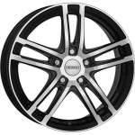 DEZENT Alloy Wheel TZ Dark, 18x7. 5 5x108 ET48 middle hole 70