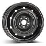 KFZ steel wheel 9552, 16x6. 5 5x100 ET48 middle hole 56