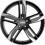 Fondmetal Alloy Wheel Hexis Gl Blk Po, 19x8. 5 5x112 ET40 middle hole 66