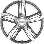 Fondmetal Alloy Wheel Hexis Gl Silver, 18x8. 0 ET middle hole 66
