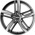 Fondmetal Alloy Wheel Hexis Gl Tit Po, 18x8. 0 5x112 ET29 middle hole 66
