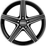 Fondmetal Alloy Wheel Ioke M Blk Pol, 18x8. 0 5x112 ET48 middle hole 66