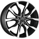 MAK Alloy Wheel KOLN BLACK MIRROR, 18x8. 0 5x112 ET30 middle hole 66