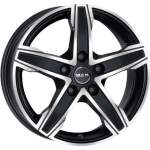 MAK Valuvelg King5 Ice Black, 17x7. 5 5x112 ET51 Keskava 66