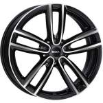 MAK Valuvelg Oxford Black peegel, 16x7. 0 5x112 ET52 Keskava 66