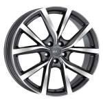 MAK Alloy Wheel Polaris GMMF, 18x8. 0 5x108 ET42 middle hole 63